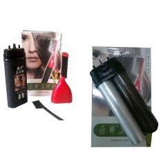 Mẫu sản phẩm Lược nhuộm tóc thông minh ALIANG kẽm lõi thuốc nhuộm tóc thay thế (Đen)
