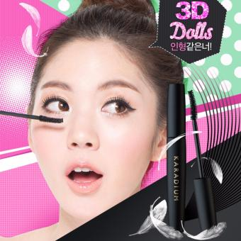 Mascara Làm Dày Và Dài Mi Karadium On The Top Fibre Mascara Volume 10ml (Đen)