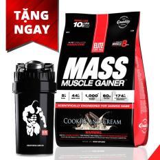 Giá Sốc Sữa tăng cân, tăng cơ vị bánh quy Mass Muscle Gainer 10.16 lb/4.62 kg Cookies & Cream