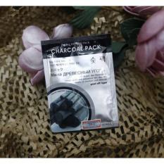 Cửa hàng bán Mặt nạ DẠNG LỘT tẩy tế bào chết, loại bỏ mụn đầu đen chiết xuất từ bùn than Ficial Essance Pack Charcoal Pack 10g
