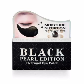 Giá KM Mặt nạ dưỡng ẩm, giảm thâm và giảm bọng mắt chiết xuất ngọc trai Arra TOPFACE Black pearl edition Hydrogel Eye Patch ( 60 miếng)