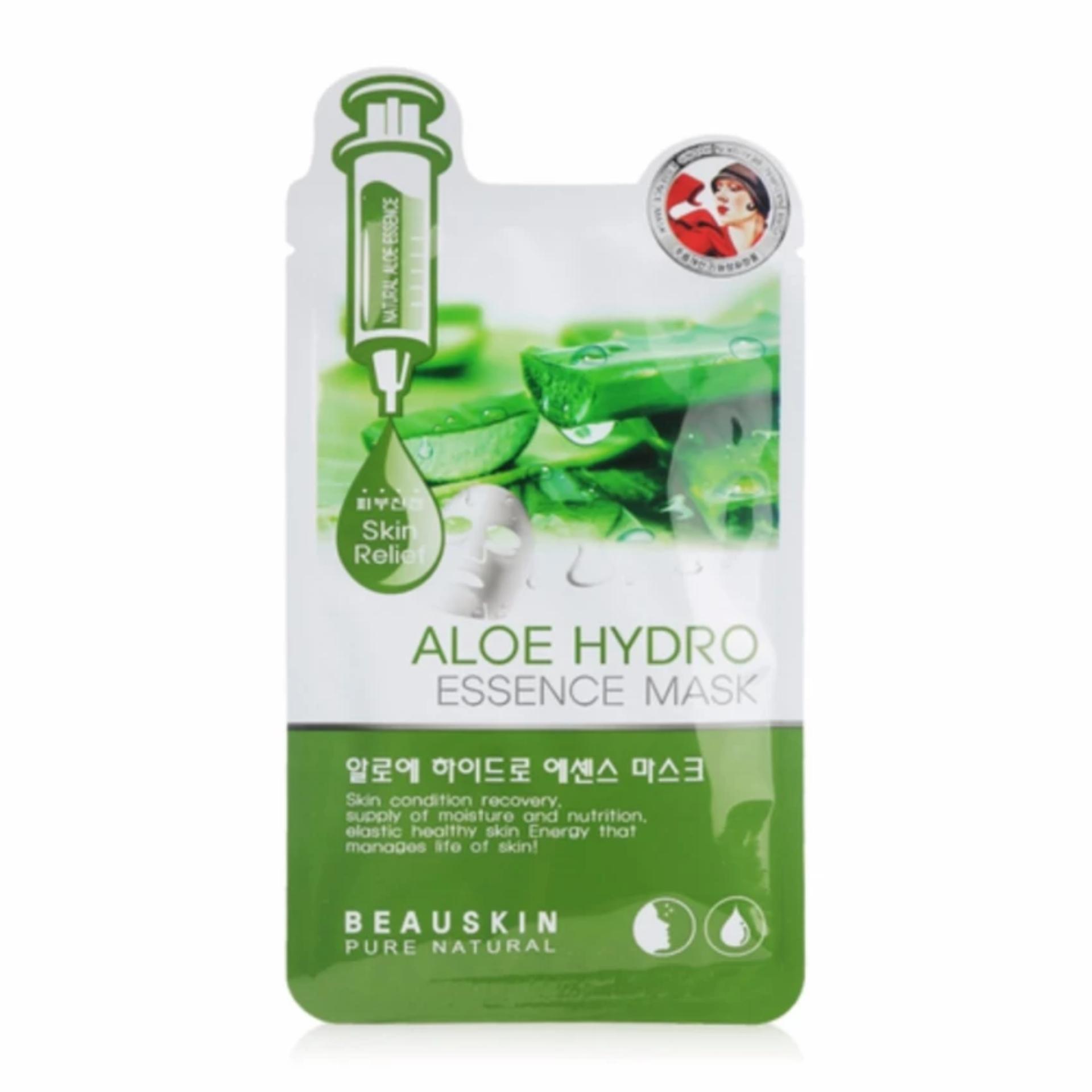 Mặt nạ dưỡng da chiết xuất lô hội Beauskin Aloe Hydro Essence Mask