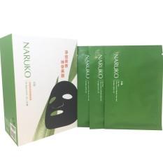 Mặt nạ Naruko Tràm Trà trị mụn Naruko Tea Tree Shine Control & Blemish Clear Mask bản Đài Loan (Hộp 8 miếng)