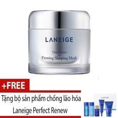 Mặt nạ ngủ ngăn ngừa lão hóa Laneige Time Freeze Firming Sleeping Mask 60ml + Tặng bộ sản phẩm chống lão hóa Perfect Renew