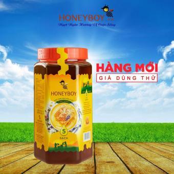Mua Mật Ong Thiên Nhiên 5 Sạch Honeyboy 1kg  tiết kiệm 92.900 đ