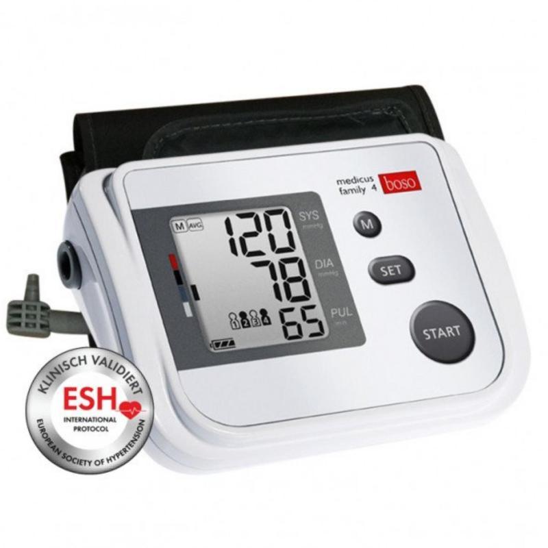 Nơi bán Máy đo huyết áp bắp tay boso medicus family 4