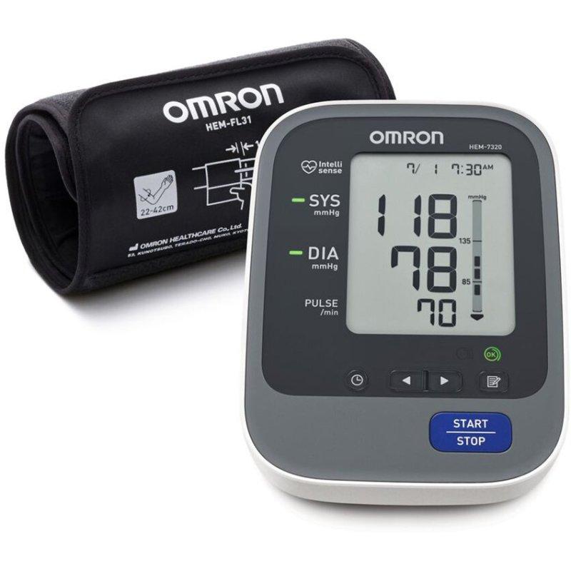 Nơi bán Máy đo huyết áp bắp tay omron HEM-7320 (Trắng)