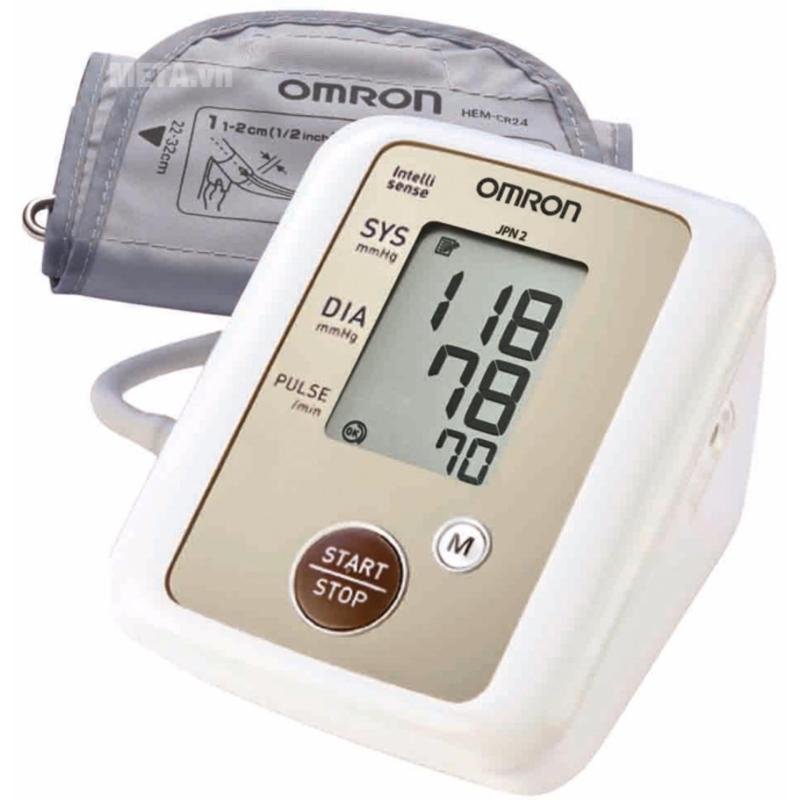 Nơi bán Máy đo huyết áp bắp tay tự động Omron JPN600 (Siêu cao cấp)