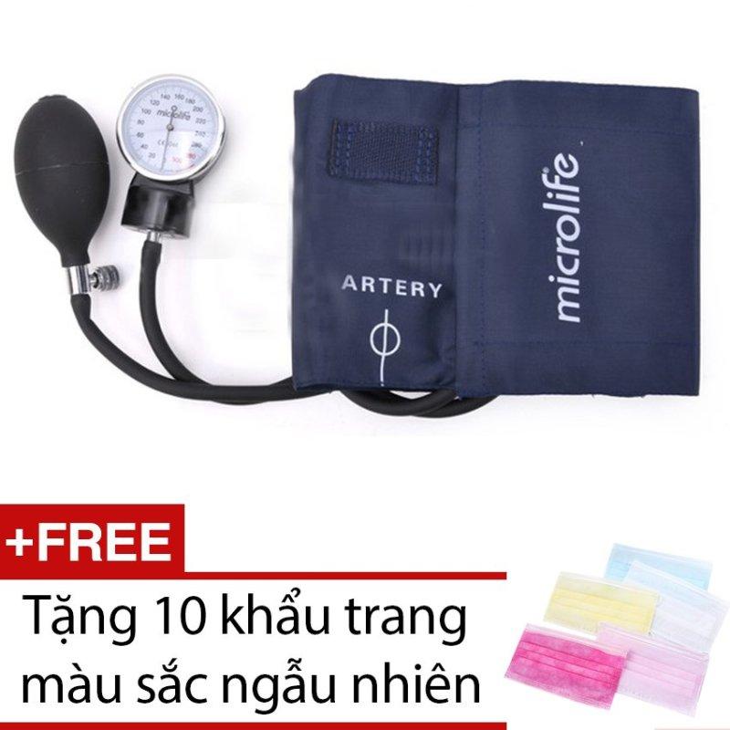 Nơi bán Máy đo huyết áp cơ Microlife AG1-20 + Tặng 10 khẩu trang màu sắc ngẫu nhiên
