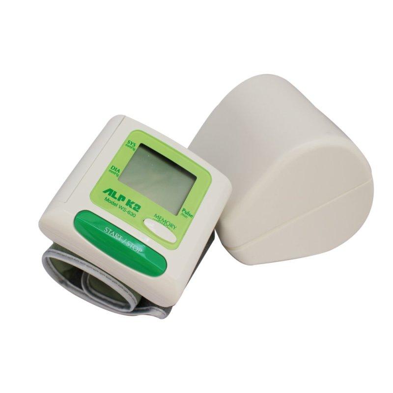 Nơi bán Máy đo huyết áp cổ tay ALPK2 WS-630 (Trắng phối xanh)