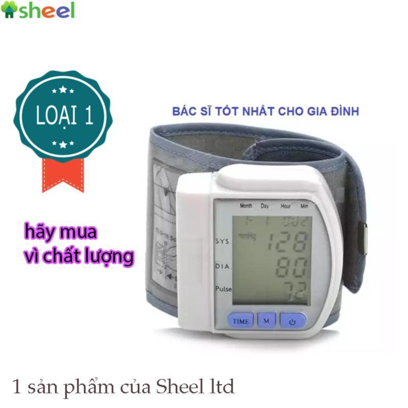 Nơi bán Máy đo huyết áp Cổ Tay CK-102S SHEEL LOẠI 1
