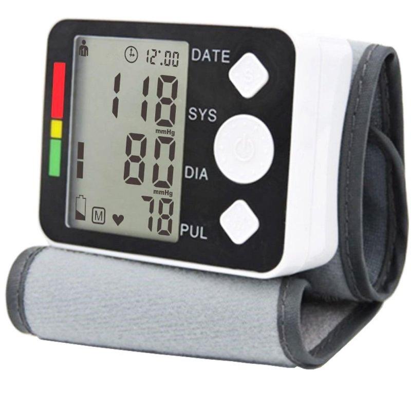Nơi bán Máy đo huyết áp cổ tay - Máy Đo Huyết Áp Cổ Tay cao cấp H268, giá rẻ nhất, sử dụng đơn giản -  Bảo Hành Uy Tín TECH-ONE