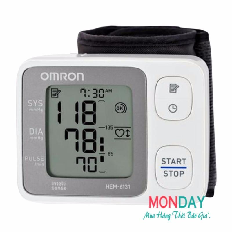 Nơi bán Máy đo huyết áp cổ tay Omron Hem 6131