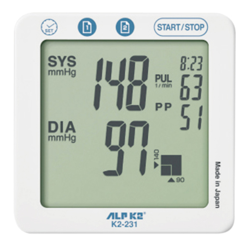 Nơi bán Máy đo huyết áp công nghệ cao cấp ALPK2 Model K2-231 - Tặng kèm bộ đổi điện AC/DC