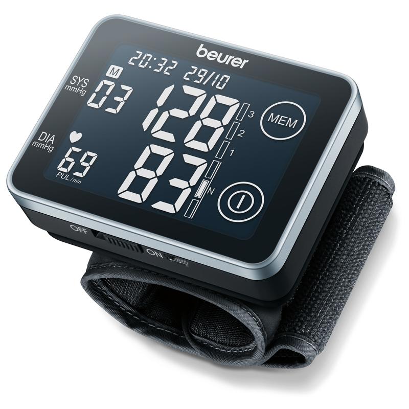 Nơi bán Máy đo huyết áp điện tử cảm ứng Beurer BC58 (Đen)