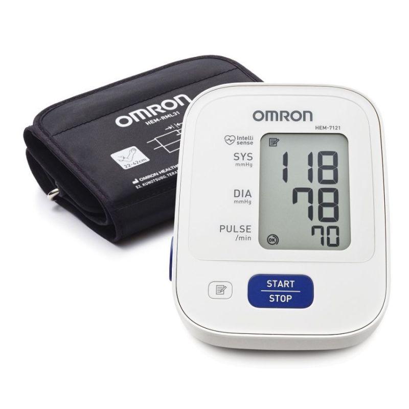 Nơi bán Máy đo huyết áp điện tử Omron HEM 7121 (Trắng)