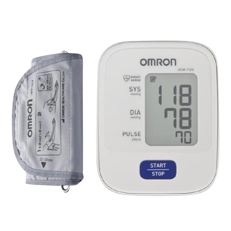 Nơi bán Máy đo huyết áp Omron Hem 7120 (Trắng)