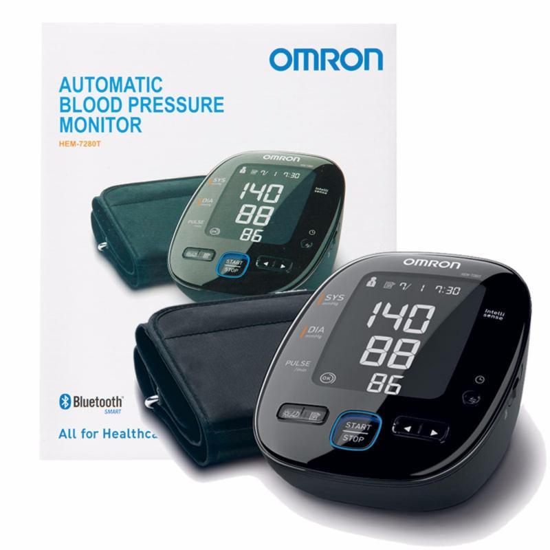 Nơi bán Máy đo huyết áp Omron HEM-7280T + Tặng kèm bộ AC-Adapter đổi nguồn