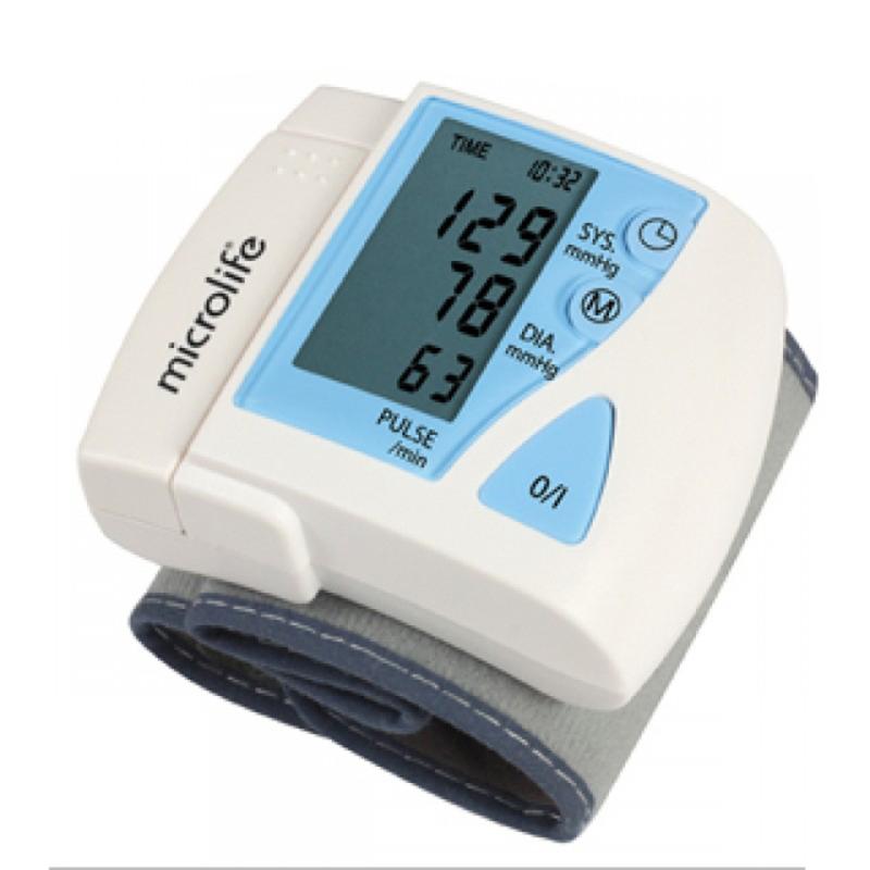 Nơi bán Máy đo huyết cổ tay Microlife 3BU1-3 (Trắng)