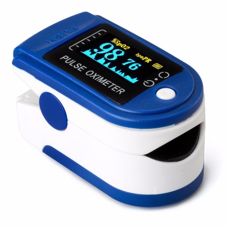 Máy đo nồng độ Oxy Trong máu SPO2 OX40 (Xanh) bán chạy