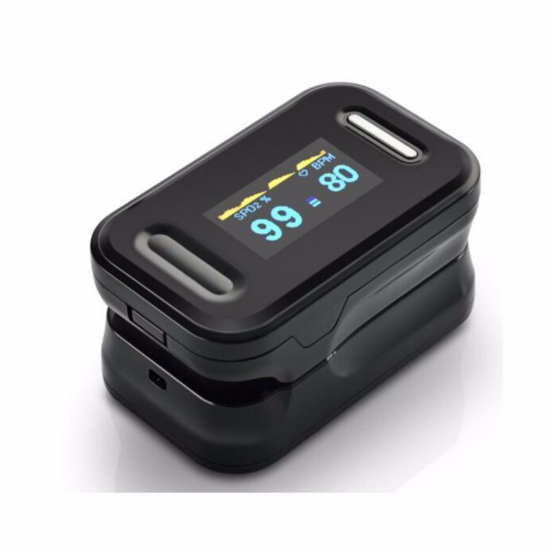 Máy đo nồng độ Oxy Trong máu SPO2 OX50 (Đen) bán chạy