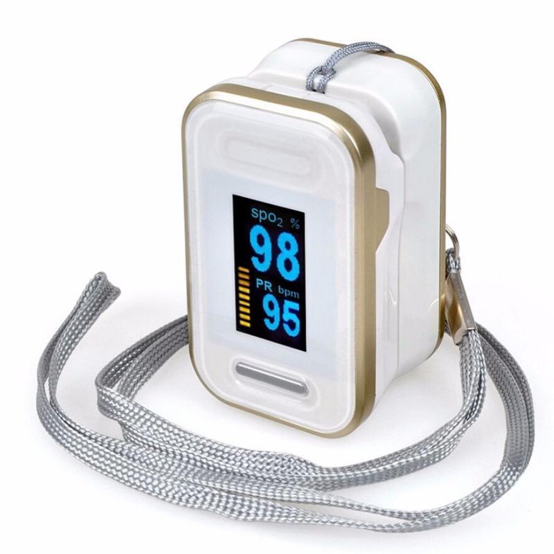 Nơi bán Máy đo nồng độ Oxy Trong máu SPO2 OX50 (Trắng vàng)