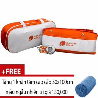 Máy massage bụng Buhueng Korea MK-311 + Tặng 1 khăn tắm 50 x 100cm màu sắc ngẫu nhiên