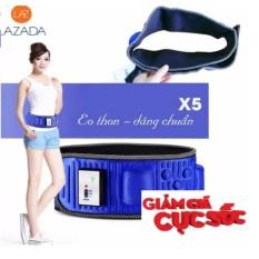 may matxa bung gia re – Đai massage giảm cân X5, đánh tan mỡ thừa vùng bụng gấp 5 lần, sản phẩm cao cấp, _ Hàng nhập khẩu
