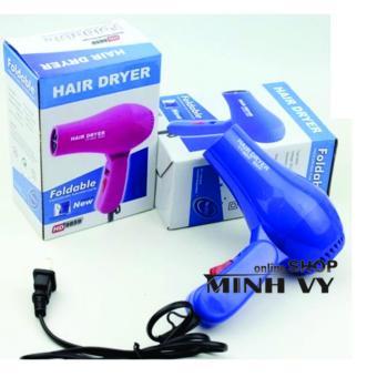 Máy Sấy Tóc Du Lịch Hair Dryer 500W (Xanh)