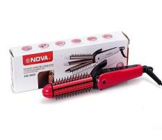 Giá KM Máy tạo kiểu tóc đa năng 3 trong 1 Nova NHC-8890 (hồng)