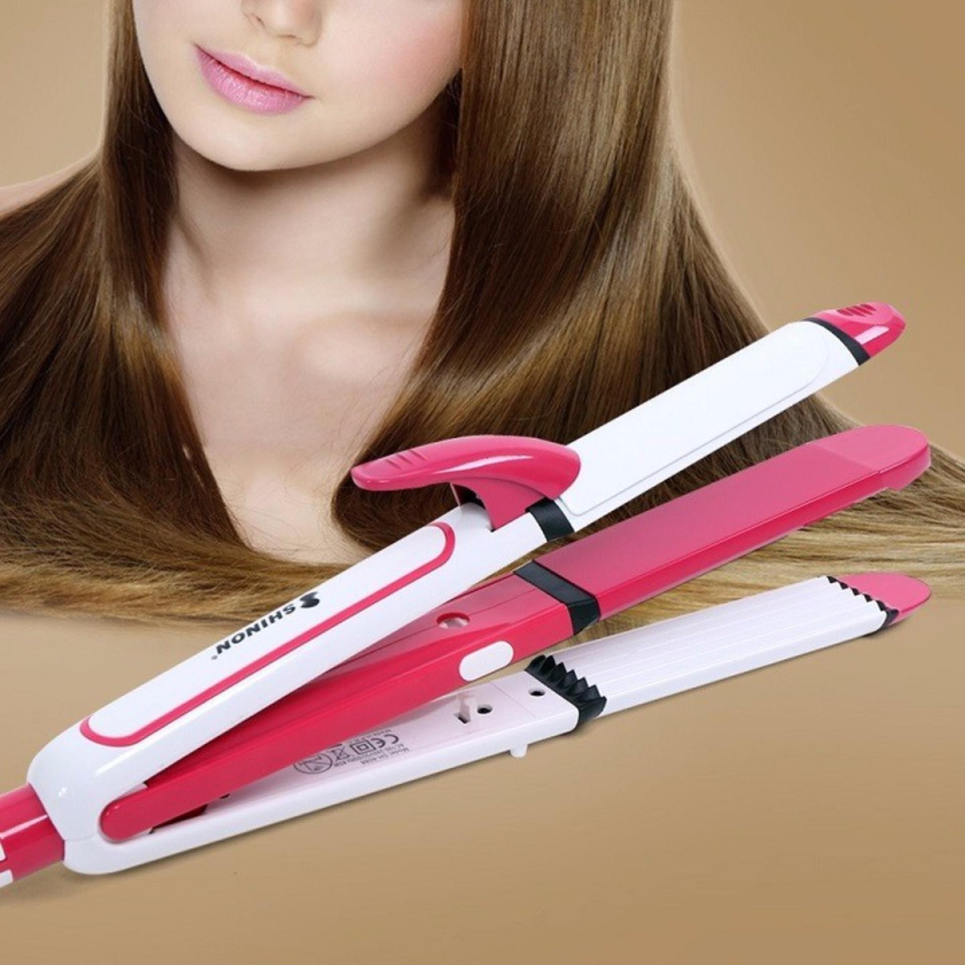 So Sánh Giá Máy uốn tóc, máy duỗi tóc SHINON đa năng