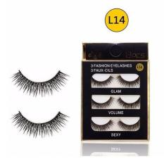 Mi Giả Lông Chồn 3D 3PCS 3 Fashion Eyelashes 3 Faux-Cils L14 (3 cặp)