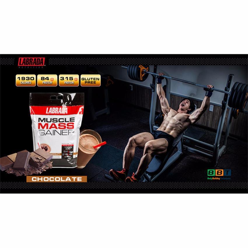 Muscle Mass của Labrada hỗ trợ tăng cân tăng cơ Bịch 5.4kg - chính hãng BBT