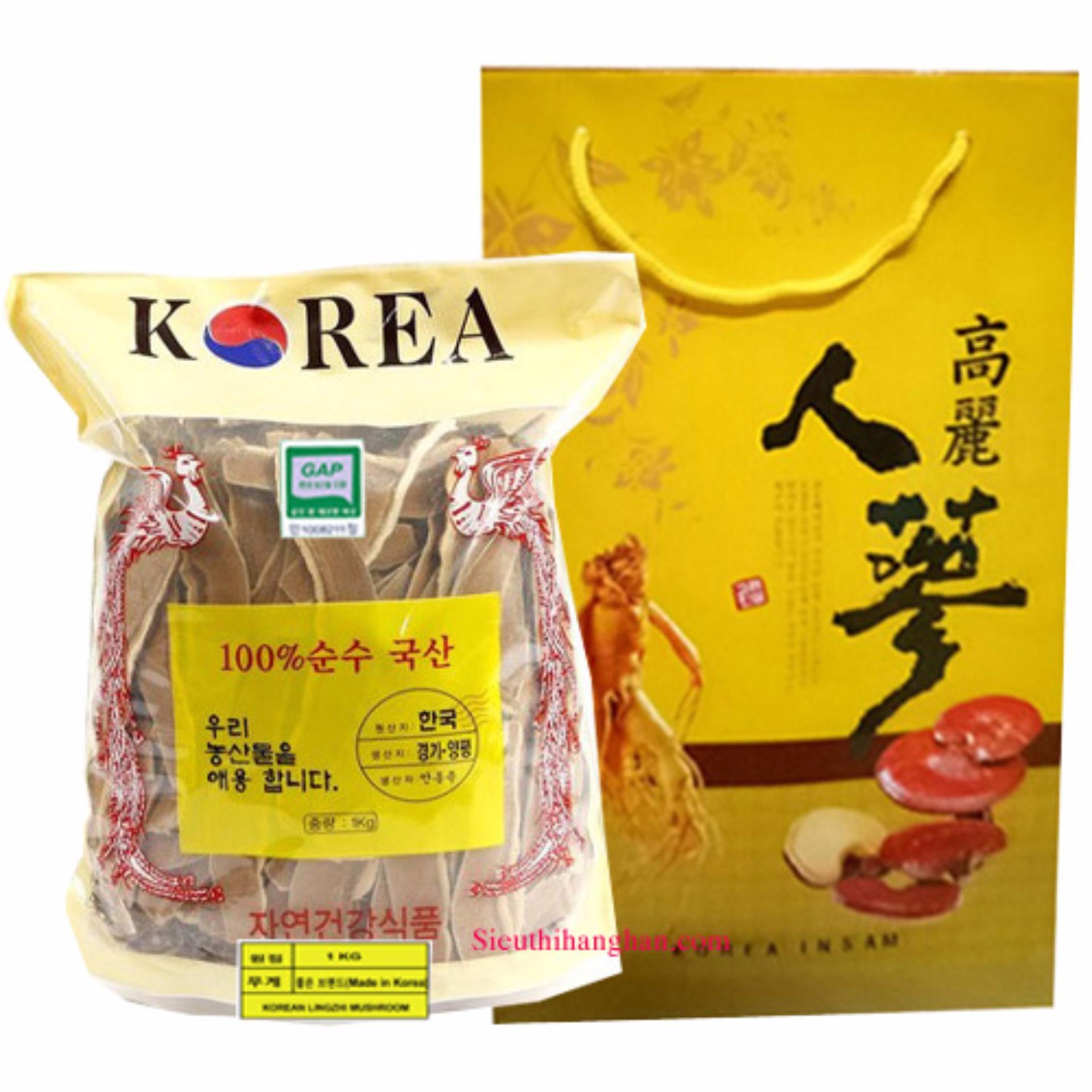 Nấm Linh Chi Hàn Quốc Cao Cấp thái lát 1 Kg - HÀNG MỚI VỀ - ĐANG TRỢ GIÁ