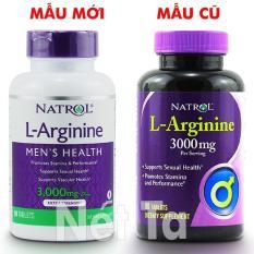 Natrol L-Arginine 3000mg hộp 90 viên – Mỹ – Hỗ trợ sức khỏe tình dục, tăng cường sức mạnh nam giới