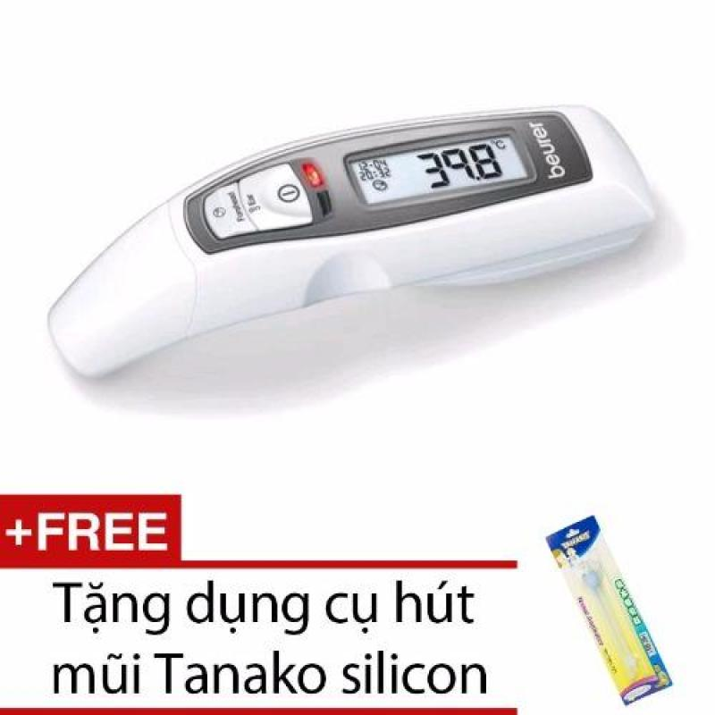 Nhiệt kế điện tử đo tai và trán Beurer FT65 + Tặng dụng cụ hút mũi Tanako silicon bán chạy