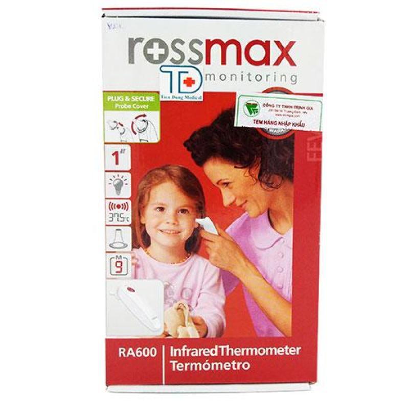 Nhiệt Kế Hồng Ngoại Đo Tai Rossmax - USA bán chạy