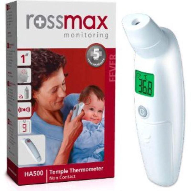 Nhiệt Kế Hồng Ngoại Đo Trán Rossmax HA500 (Trắng) bán chạy