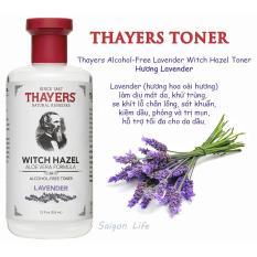 Giảm giá Nước Hoa Hồng Không Cồn Thayers Witch Hazel Lavender (Oải Hương) 355ml (Dành cho da dầu, da có mụn)