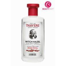Nước hoa hồng không cồn Thayers Witch Hazel Rose Petal (cho da khô, da thường)