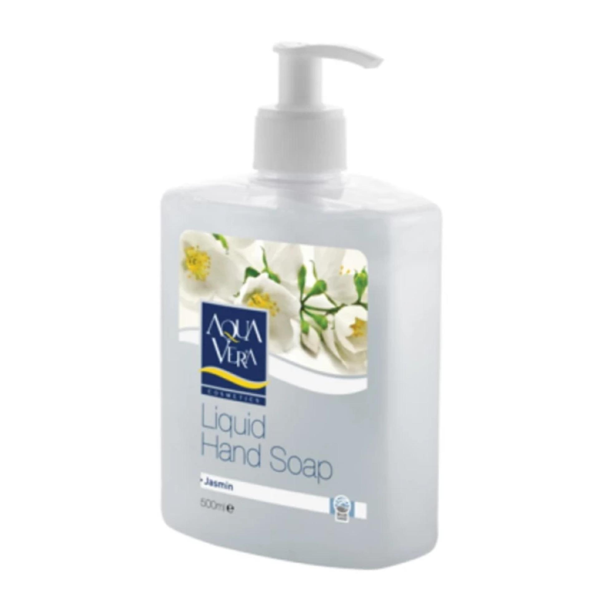 Nước rửa tay Aqua Vera -Turkey hương Hoa Nhài (500ml)