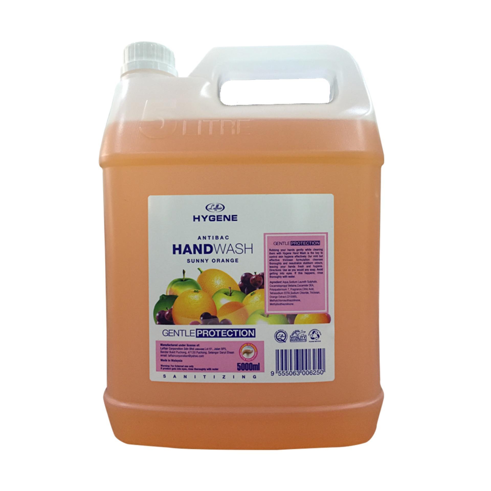 Nước rửa tay L'affair hương cam 5L