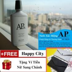 Nước Súc Miệng NUSKIN AP24 + Tặng Ví Tiền Nữ Siêu Xinh – Nước Súc Miệng Anti-Plaque Flouride Mouthwash