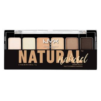 Phấn mắt 6 màu NYX Professional Makeup The Natural Shadow PaletteNatural TNS01