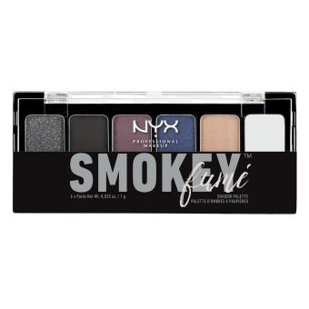 Phấn mắt 6 màu NYX Professional Makeup The Smokey Shadow PaletteTSS01