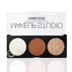 Phấn tạo khối Sivanna Makeup Studio Contour & Highlight #No 04