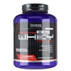 Prostar 100% Whey Protein – Sữa tăng cơ giảm mỡ vị dâu rừng 2.39 kg