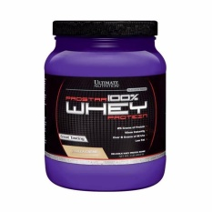 Sữa tăng cơ giảm mỡ vị vani Prostar Whey 100% Protein Vani 454 grams