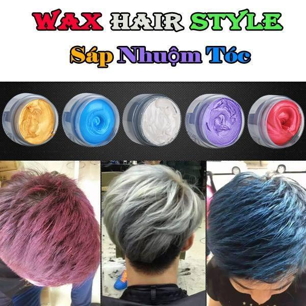 Sáp vuốt tóc – Sáp Nhuộm Tóc ( Màu Đỏ, Vàng, Tím)