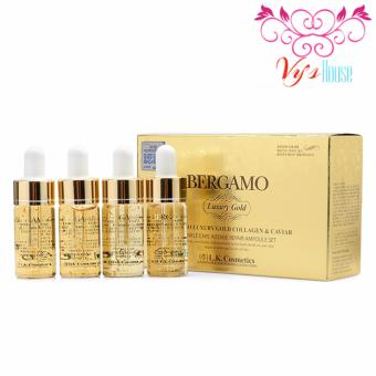 Serum BERGAMO Luxury Gold Collagen & Caviar - Hàn Quốc